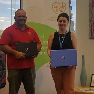 family-life-sancss-laptop-donation
