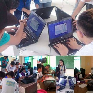 Laptops for senior high school students in Ormoc