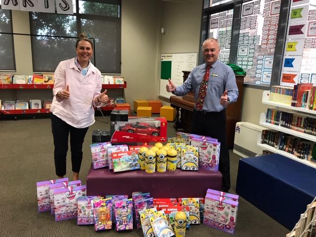 St Finbar's School Xmas doantions 2018